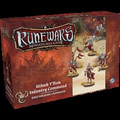 Runewars Miniatures Game: Uthuk Y'llan Infantry Command Unit Expansion