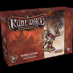 Runewars Miniatures Game: Kethra A'laak Hero Expansion