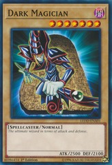 Dark Magician - LEDD-ENA01 - Common - 1st Edition on Channel Fireball