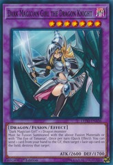Dark Magician Girl the Dragon Knight - LEDD-ENA36 - Common - 1st Edition