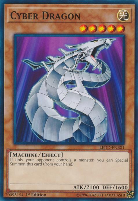 Cyber Dragon - LEDD-ENB01 - Common - 1st Edition