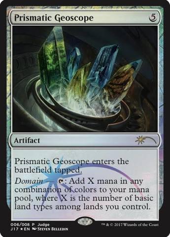Prismatic Geoscope - Judge