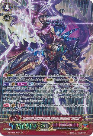 Conquering Supreme Dragon, Dragonic Vanquisher VBUSTER - G-BT12/S04EN - SP