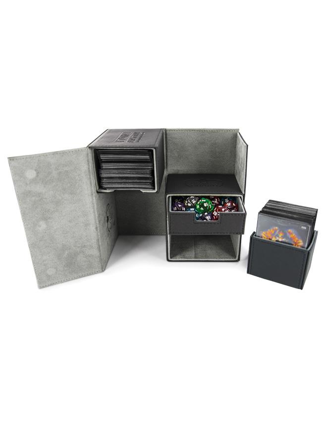 Ultimate Guard - Twin FlipnTray Deck Case - XenoSkin Standard Size 160+ Black