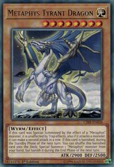 Metaphys Tyrant Dragon - CIBR-EN026 - Rare - 1st Edition