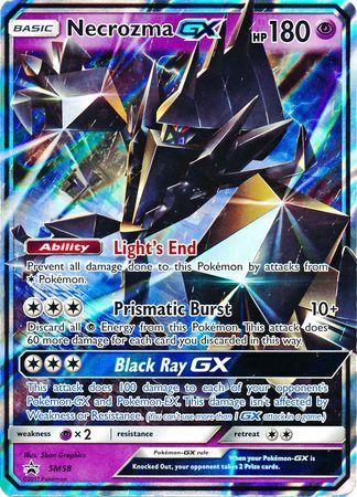 Necrozma GX - SM58 - SM Black Star Promos