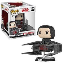 Pop! Deluxe: Star Wars: The Last Jedi - Kylo Ren With Tie Fighter