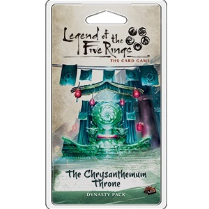 Legend of the Five Rings LCG - The Chrysanthemum Throne Dynasty Pack