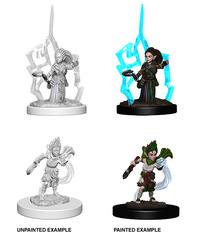 Pathfinder Deep Cuts Unpainted Miniatures: W5 Gnome Female Druid