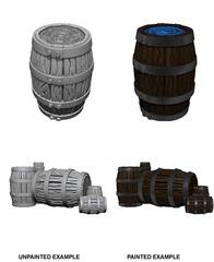 Wizkids Unpainted Mini - Barrel N Pile Of Barrels