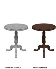 Wizkids Unpainted Mini - Small Round Tables