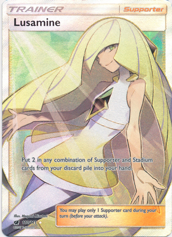 Lusamine - 110/111 - Full Art Ultra Rare