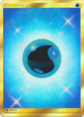 Water Energy - 124/111 - Secret Rare