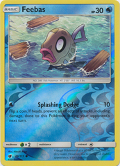 Feebas - 26/111 - Common - Reverse Holo