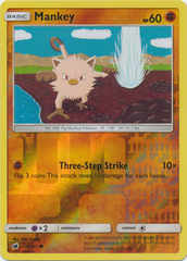 Mankey - 50/111 - Common - Reverse Holo