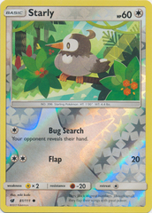 Starly - 81/111 - Common - Reverse Holo