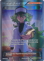 N (Supporter) (Alt Art) - 105a/124 - Premium Trainer's XY Collection