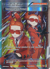 Team Flare Grunt (Alt Art) - 73a/83 - Premium Trainers XY Collection