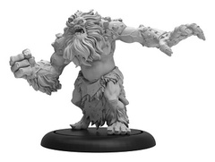 Trollblood Winter Troll Light Warbeast Resculpt Bl