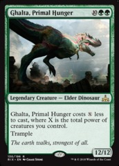 Ghalta, Primal Hunger on Channel Fireball