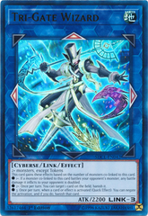 Tri-Gate Wizard - SDCL-EN042 - Ultra Rare - 1st Edition