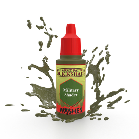 Warpaints Quick Shade: Military Shader Ink 18ml