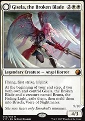Gisela, the Broken Blade // Brisela, Voice of Nightmares - Foil