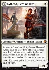 Kytheon, Hero of Akros - Foil // Gideon, Battle-Forged - Foil