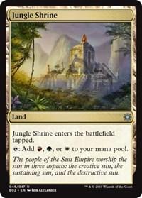 1x Jungle Shrine NM-Mint English Shards of Alara MTG Magic
