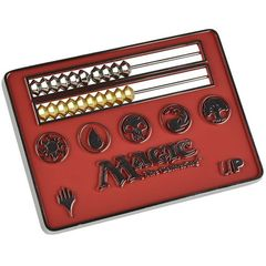 Ultra Pro Magic The Gathering: Abacus Life Counter Card Size - Red