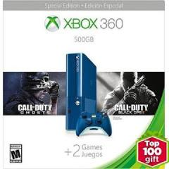 Xbox 360 E Console 500GB Blue Call of Duty Edition