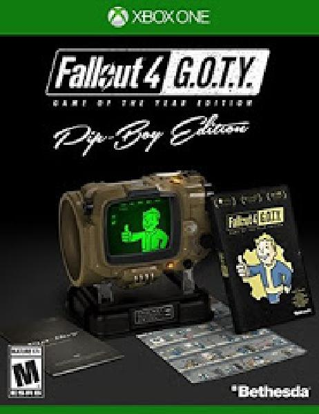 Fallout 4 Game of the Year Pip-Boy Edition - Video Games » Microsoft