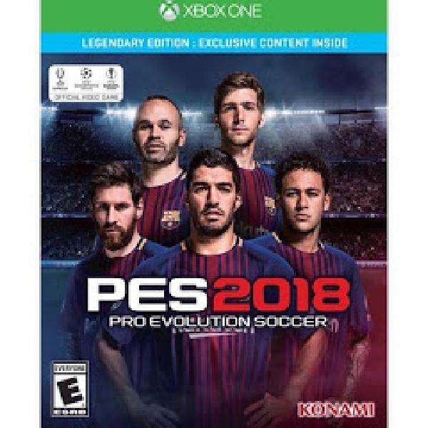 Pro Evolution Soccer 2018 Legendary Edition