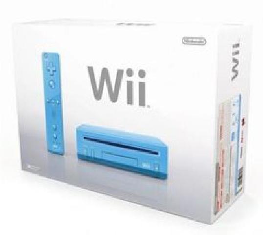 Nintendo Wii Console - Blue