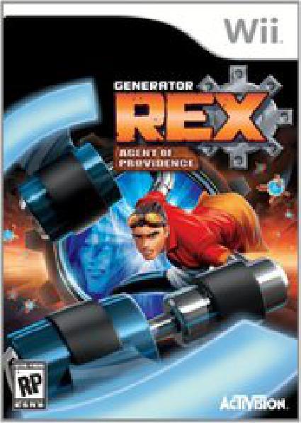 Generator Rex: Agent of Providence - Video Games » Nintendo » Wii