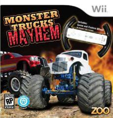 Monster Trucks Mayhem with Racing Wheel