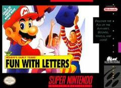 Mario's Early Years Fun with Letters