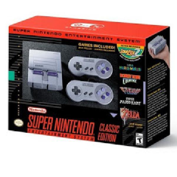 Nintendo Super Nintendo Entertainment System SNES Console - Classic Edition
