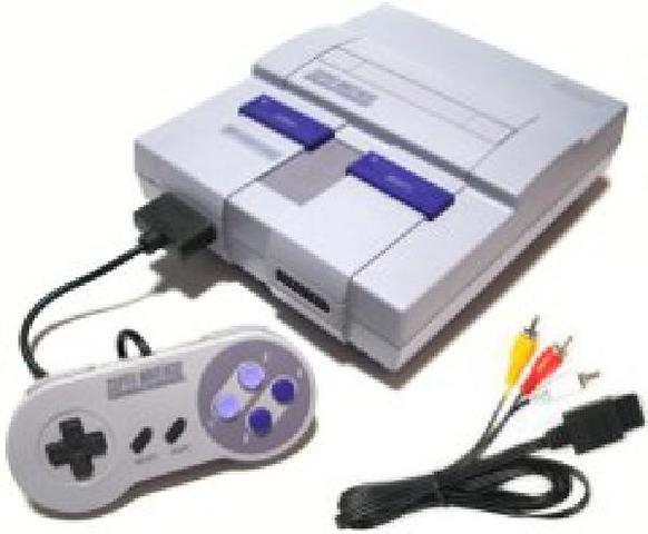 Nintendo Super Nintendo Entertainment System SNES Console
