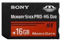 16GB PSP Memory Stick Pro Duo