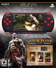 PSP 3000 Limited Edition God of War Version