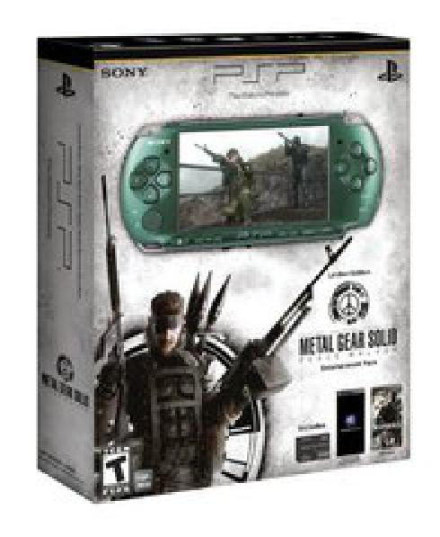 PSP 3000 Limited Edition Metal Gear Version