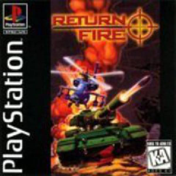 Return Fire Playstation 1 Playstation 1 Games Video Game World
