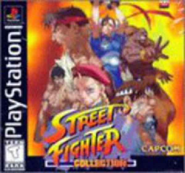 Street Fighter Collection - Video Games » Sony » Playstation