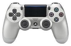 Playstation 4 Dualshock 4 Silver Controller