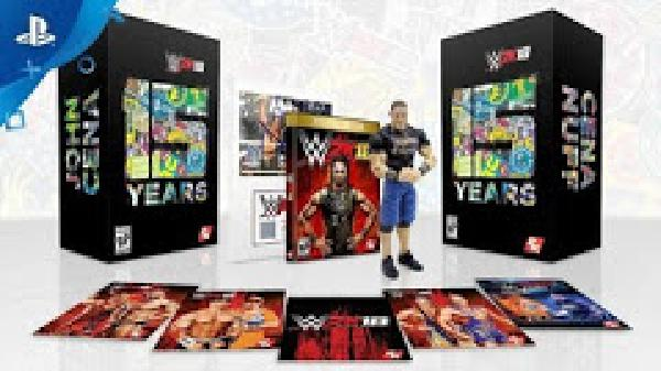 WWE 2K18 Cena Edition - Video Games » Sony » Playstation 4