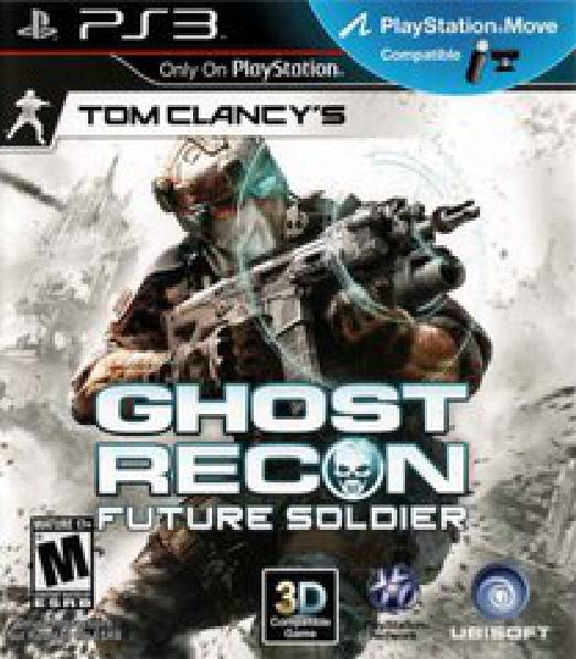Ghost Recon: Future Soldier - Video Games » Sony