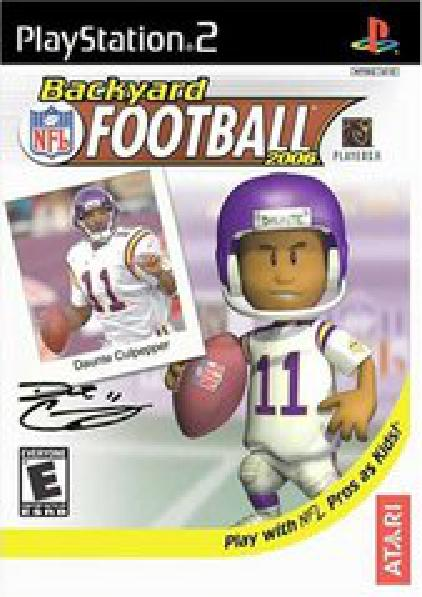 Backyard Football Video Game backyard football - video games » sony » playstation 2 - frontline games