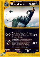 Houndoom - 12/144 - Rare on Channel Fireball
