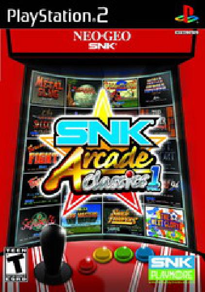 SNK Arcade Classics Volume 1 - Video Games » Sony » Playstation 2